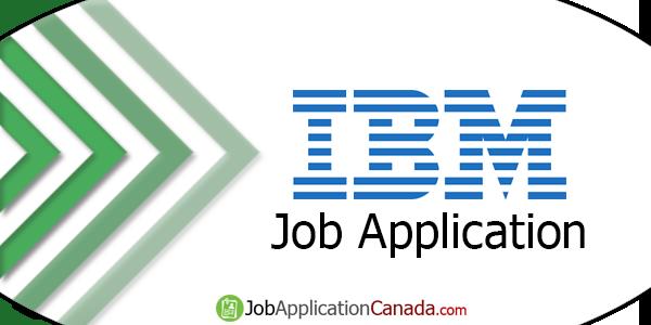 IBM Job Application
