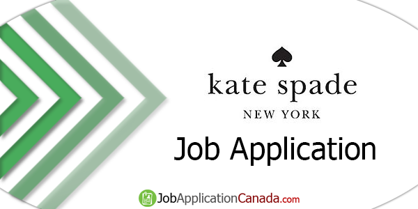 Kate Spade Job Application