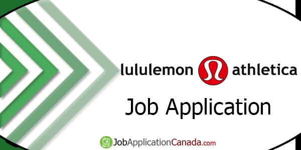 Lululemon Job Application