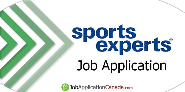 Sports Experts Job Application
