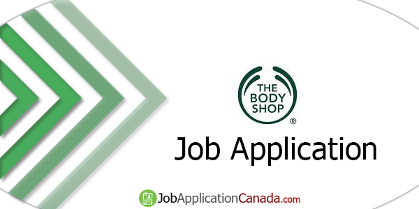 The Body Shop Job Application