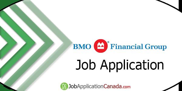 BMO Financial Job Application