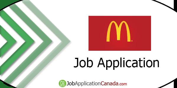 McDonald's Job Application