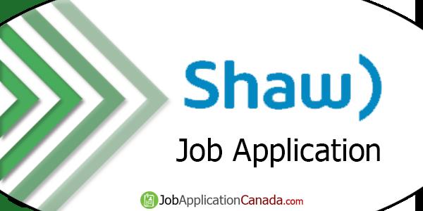 Shaw Communications Job Application