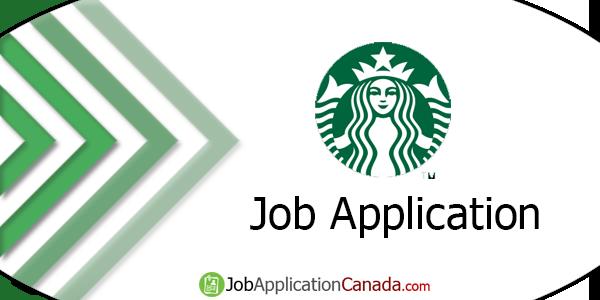 Starbucks Online Job Application Form | JobApplicationCanada com