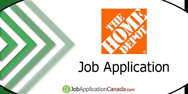 Home Depot Job Application