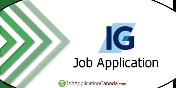 Investors Group Job Application