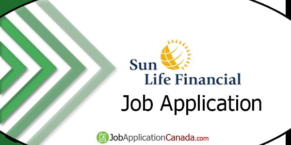 Sun Life Job Application