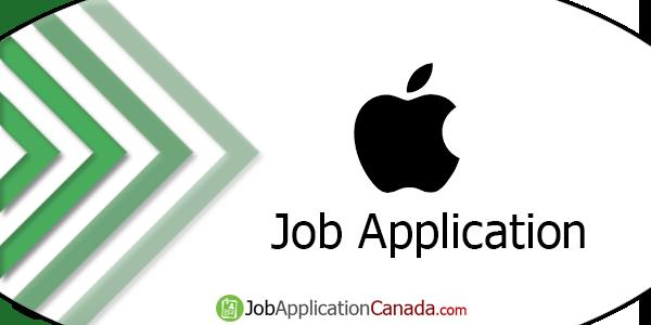 Apple Canada Job Application